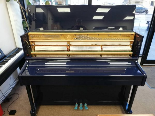 Ritmuller upright piano R118 (Blue) LL Pianos 01923 820 470